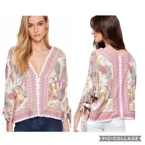 "Free People ""Catch Me If You Can"" Top"